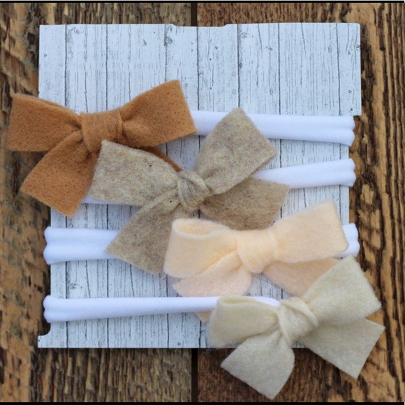 hand made Other - Neutral baby girl headbands